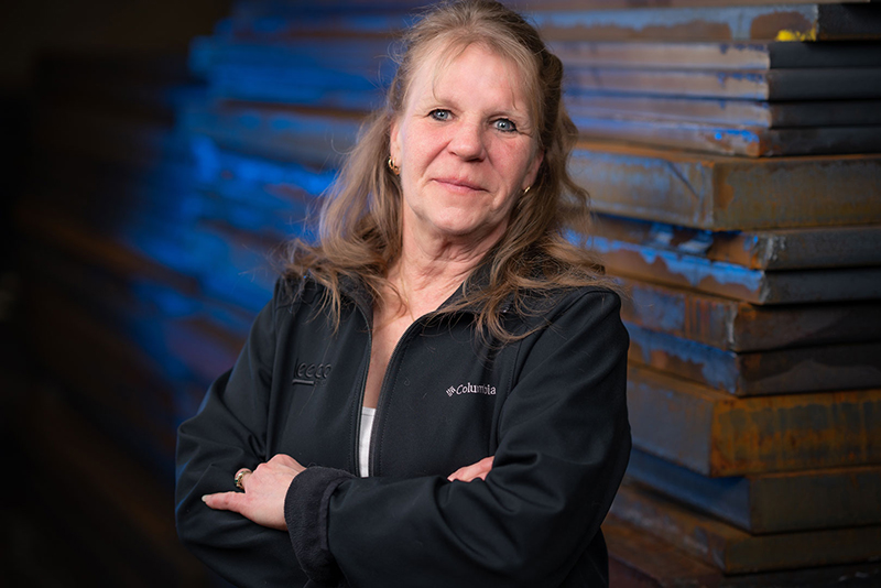 A picture of Jill Laumann, Leeco's Safety Manager