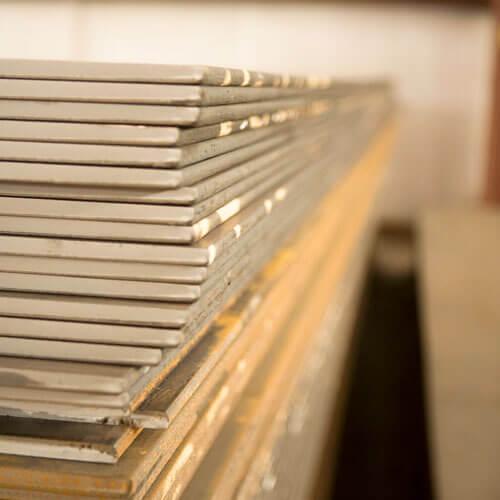european standard steel plate