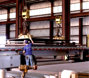 steel plate supplier distribution center